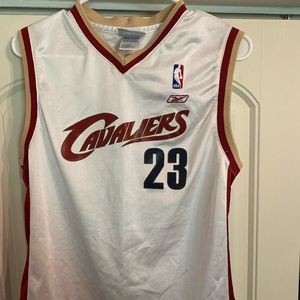 NBA Cleveland Cave LeBron James Jersey